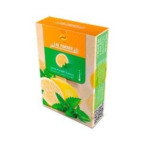 Табак для кальяна Al Fakher Lemon With Mint Flavour 50 гр.