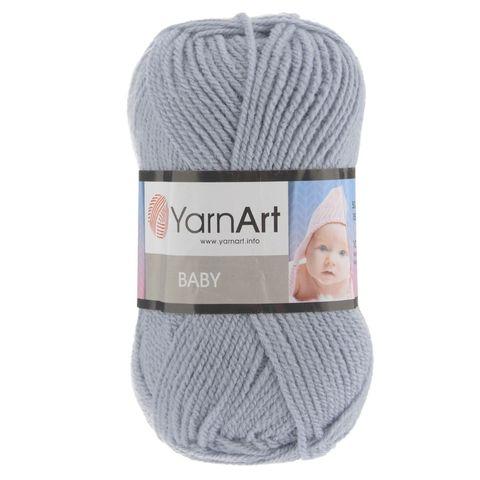 Пряжа YARNART BABY № 3072 светло серый