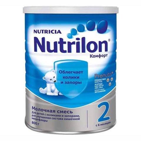 Смесь NUTRILON 2 Комфорт 800 г Nutricia НИДЕРЛАНДЫ