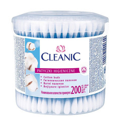 Палочки ватные Cleanic 200 штук в упаковке