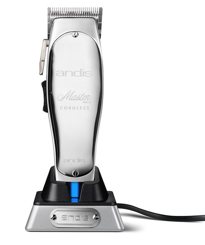 Машинка для стрижки Andis Master Cordless, аккум/сетевая, серебристая