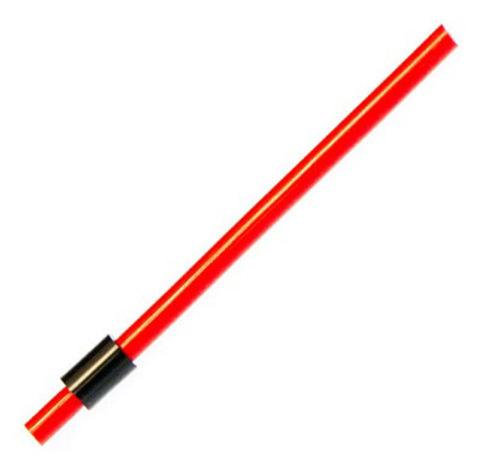 Сторожок силиконовый красный 10 см, тест 6 г