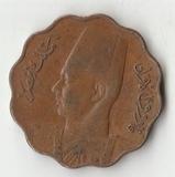 K13072 1943 Египет 5 миллим