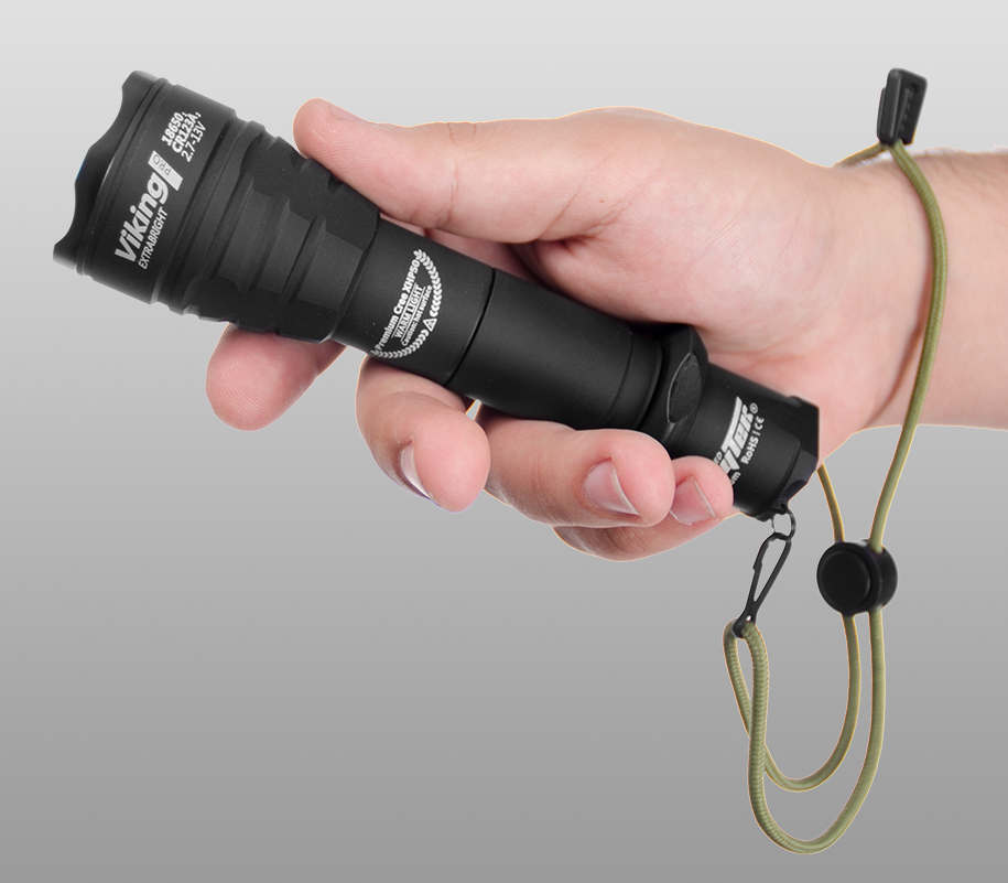 Тактический фонарь Armytek Viking Pro (тёплый свет) - фото 9
