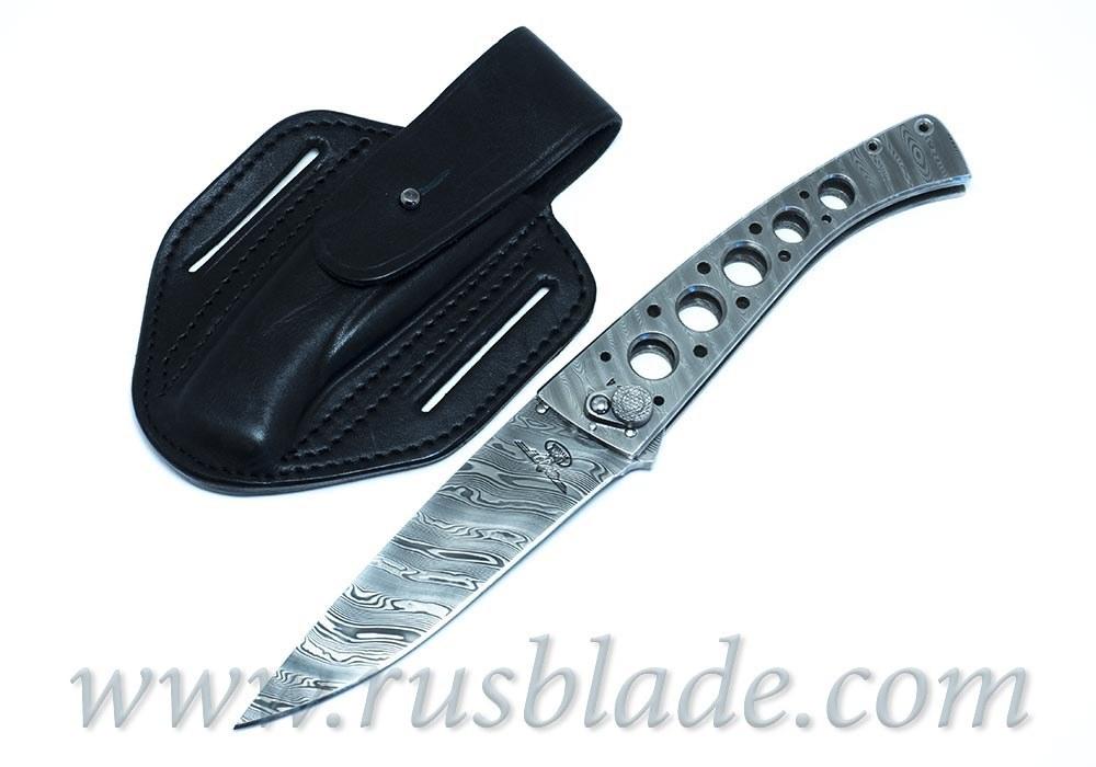 Custom Urakov Comandante Folding knife - фотография