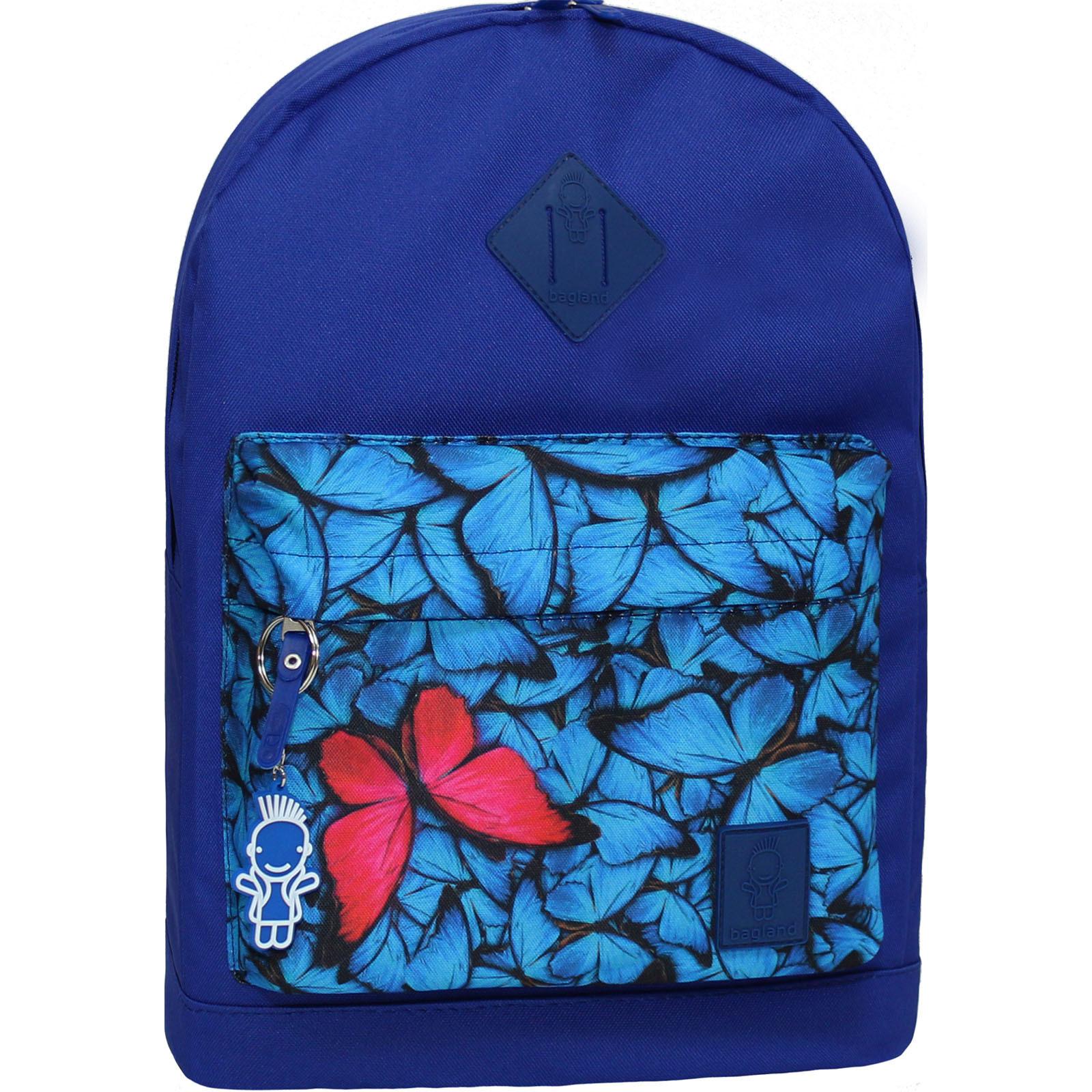 Городские рюкзаки Рюкзак Bagland Молодежный W/R 17 л. электрик 182 (00533662) Без_имени-19_182.jpg