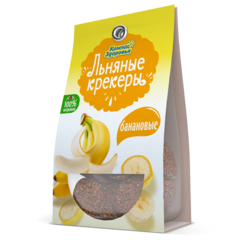 Компас здоровья Льняные крекеры с бананом 50 г