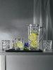 BOSSA NOVA - Набор 5 предметов кувшин + 4 стакана для виски, бессвинцовый хрусталь