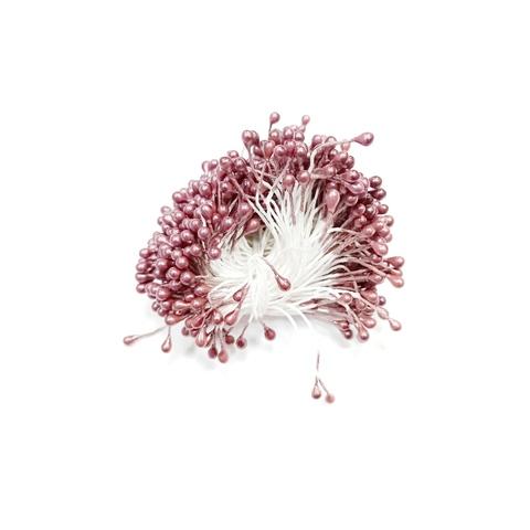 Тычинки для цветов, коричневые, 50 шт