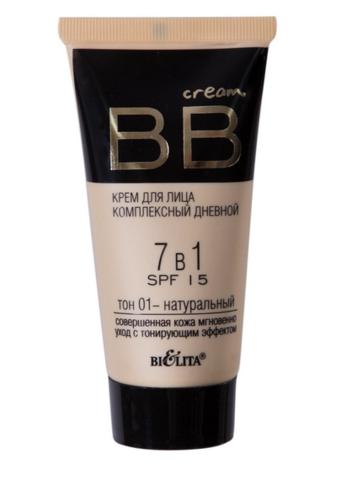 Белита BB cream Крем для лица комплекс дневной 7в1 SPF15 тон 01  30мл