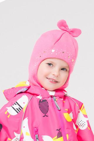 Crockid (Крокид) шапка шлем демисезонная для девочки