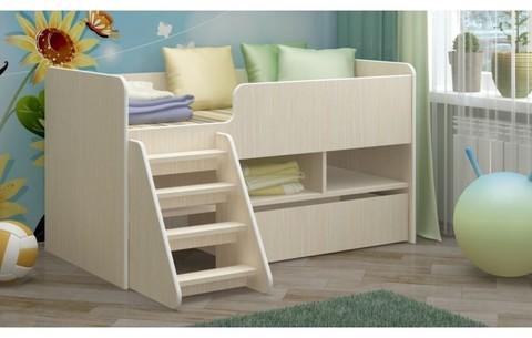Детская кровать Юниор-3 ЛДСП, 70х140