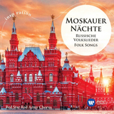 Red Star Red Army Chorus / Moscow Nights - Russian Folk Songs, Moskauer Nachte - Russische Volkslieder (CD)
