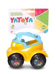 ЯиГрушка Машинка-неразбивайка сине-желтая (12019ЯиГ)