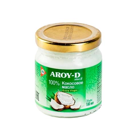 Кокосовое масло AROY-D нерафинированное 180мл Индонезия