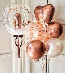 Воздушные шары на год для девочки