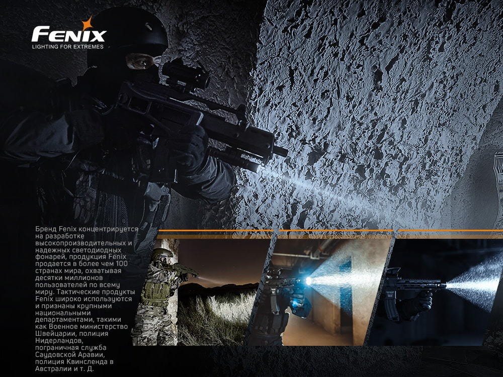Фонарь Fenix TK16V20 Cree SST70 LED - фотография