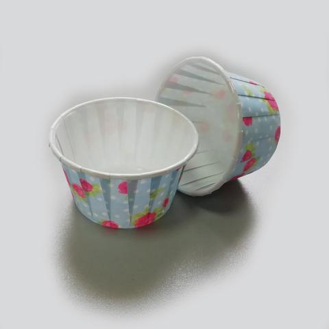Бумажные капсулы усиленные для капкейков/маффинов 50*70 h=3.5см