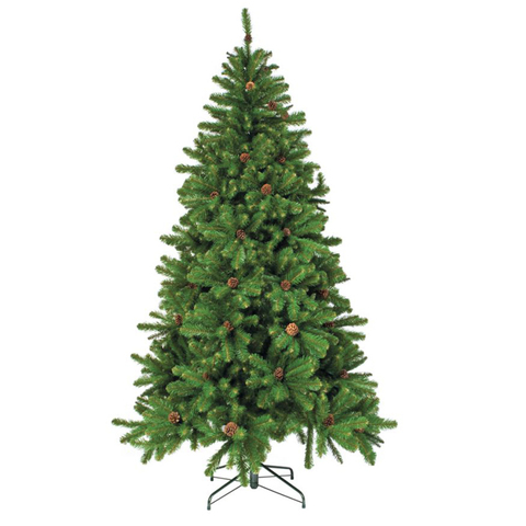 Ёлка Triumph Tree Императрица с шишками 215 см