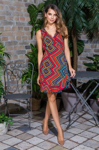 Платье пляжное MIA-MIA Jana 16430 красный