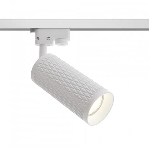 Однофазный трековый светильник Maytoni Focus Design TR011-1-GU10-W