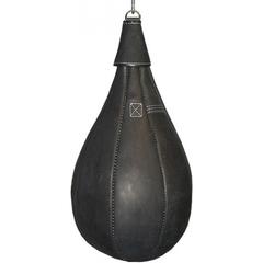Груша боксерская, 10 кг, натуральная кожа.
