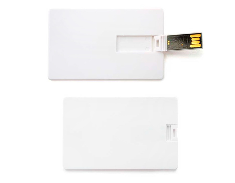 usb-флешка карточка плоская для нанесения уф-печать