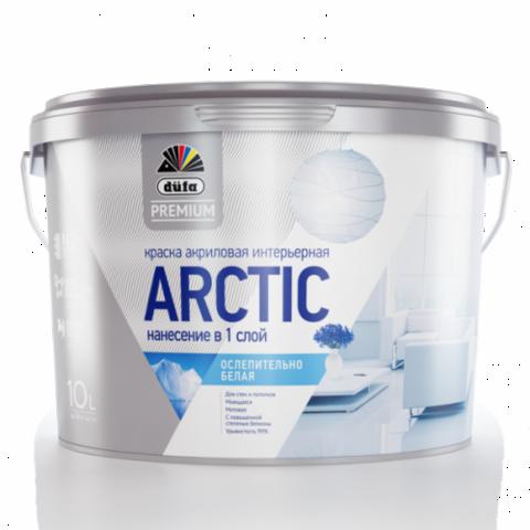 Dufa Premium ARCTIC/Дюфа Премиум Арктик интерьерная ослепительно-белая краска