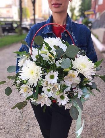 Цветы в корзинке #34883