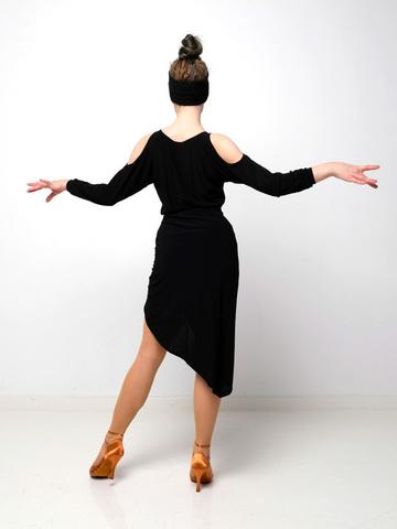 Топ для танцев с открытыми плечами