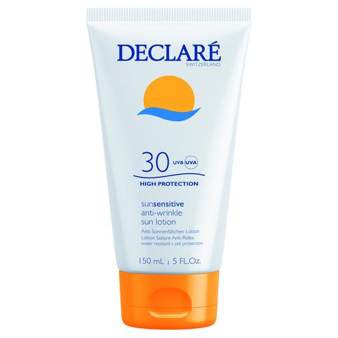 DECLARE   Солнцезащитный лосьон SPF 30 с омолаживающим действием / Anti-Wrinkle Sun Lotion SPF 30, (150 мл)