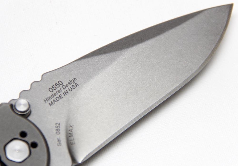 "Нож Zero Tolerance ""RICK HINDERER FOLDER"" (ZT/0550) - фотография"