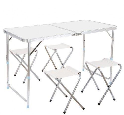 Стол складной и 4 стула Folding Table для пикника