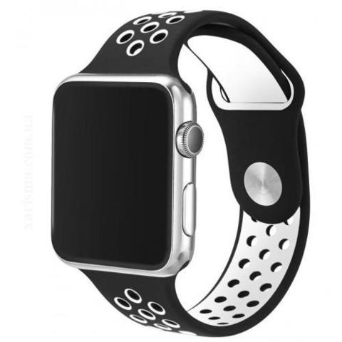 Ремешок Apple watch 38mm Sport Nike /black white/