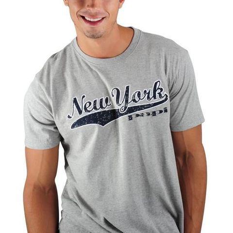 Мужская футболка серая PAPI New York
