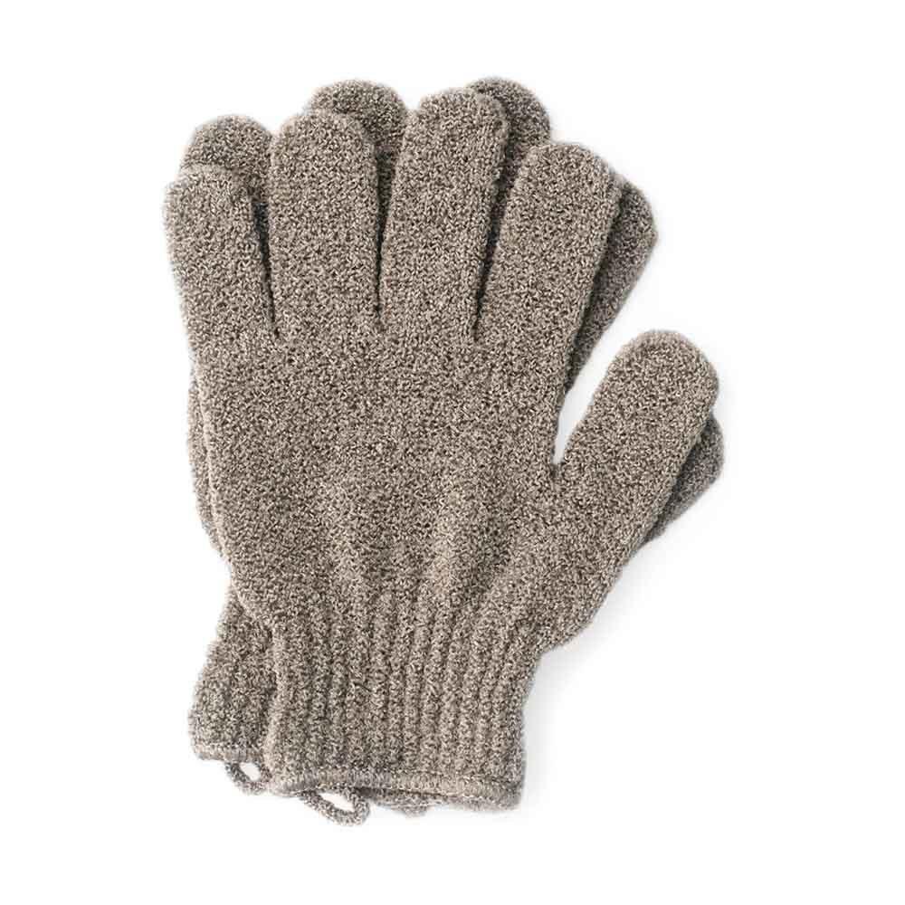Перчатки для пилинга тела мокко