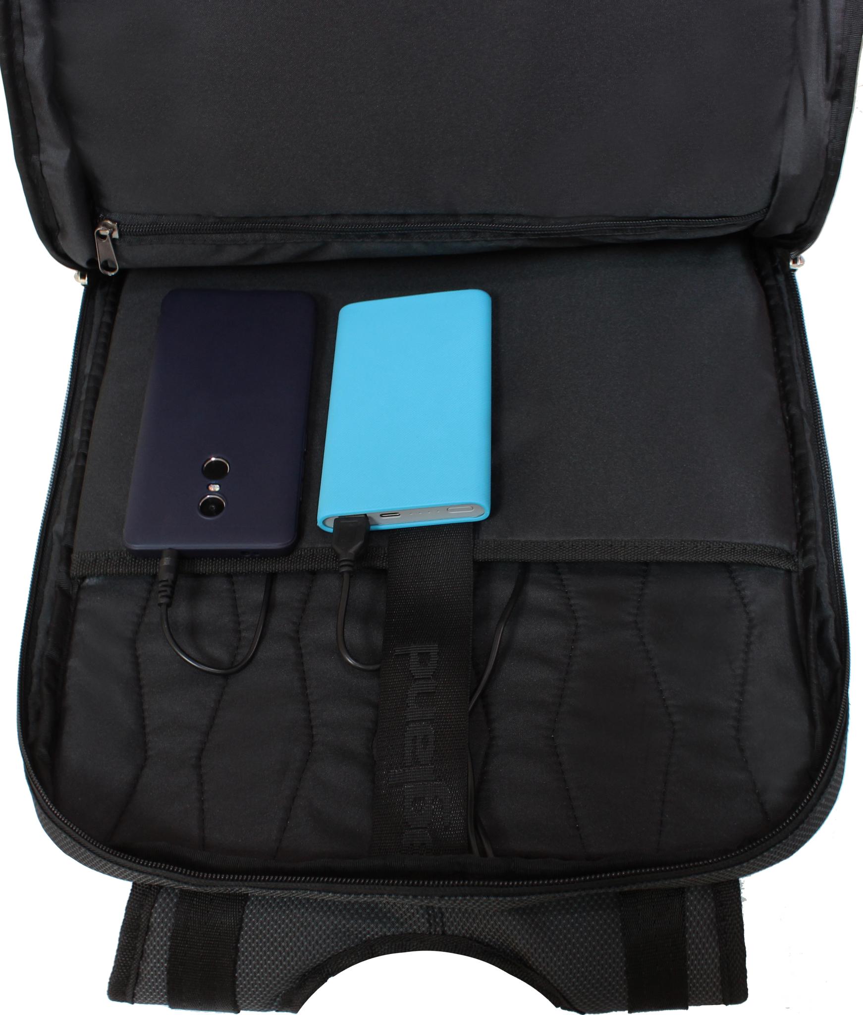 Рюкзак Bagland Boss 16 л. чорний (00526169)