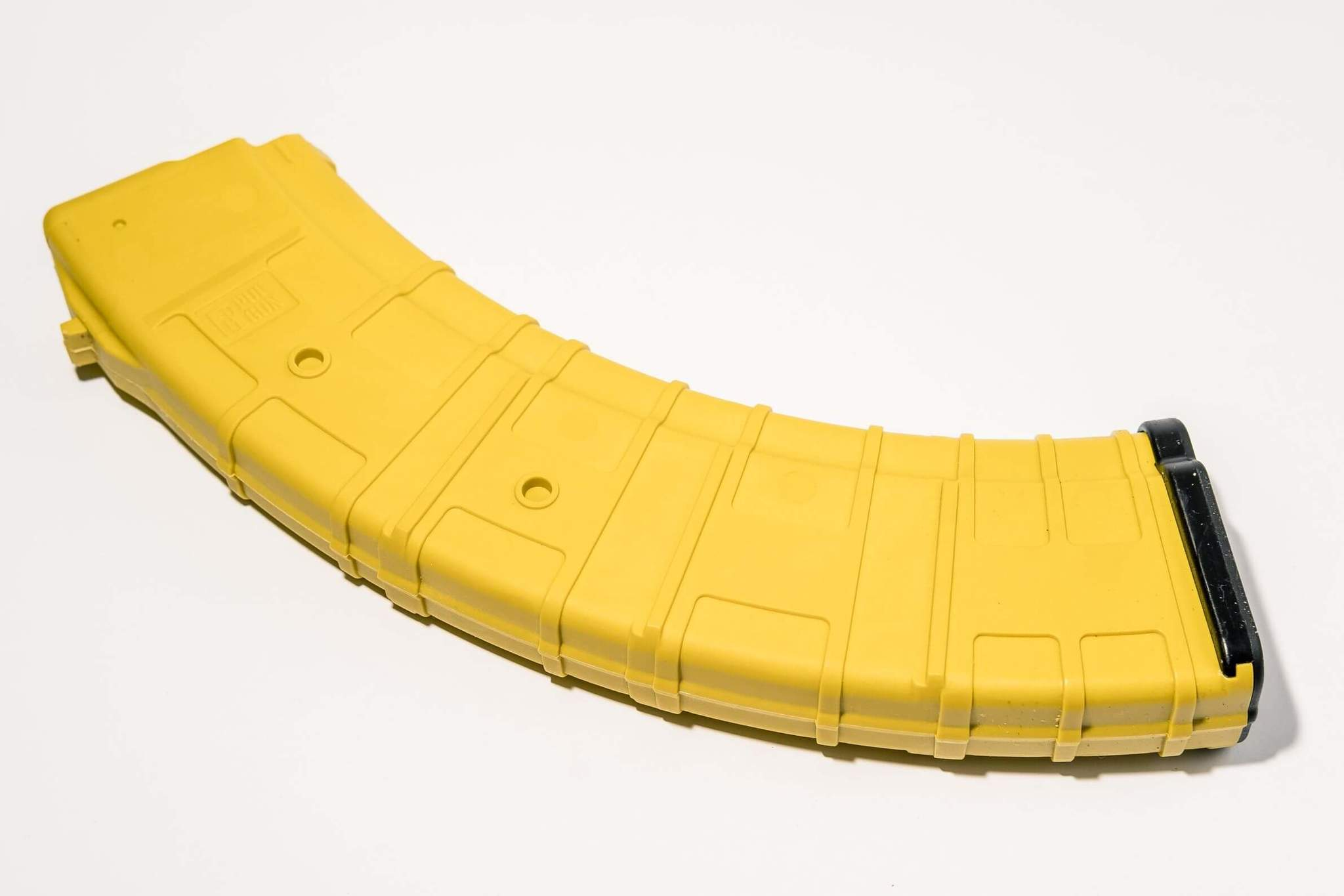 Магазин Pufgun для АКМ 7.62x39 ВПО-136 на 40 патронов, желтый