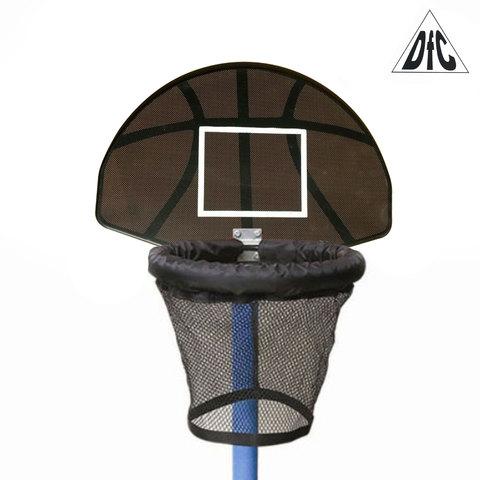 Баскетбольный щит с кольцом для батута DFC Trampoline