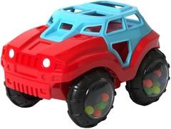 ЯиГрушка Машинка-неразбивайка сине-красная (12023ЯиГ)
