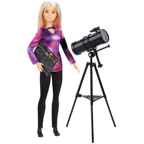 Барби Кем Быть Астрофизик Блондинка