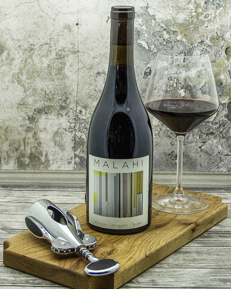 Вино Maran Winery Малаи Красное Сухое 14 % 0,75 л.
