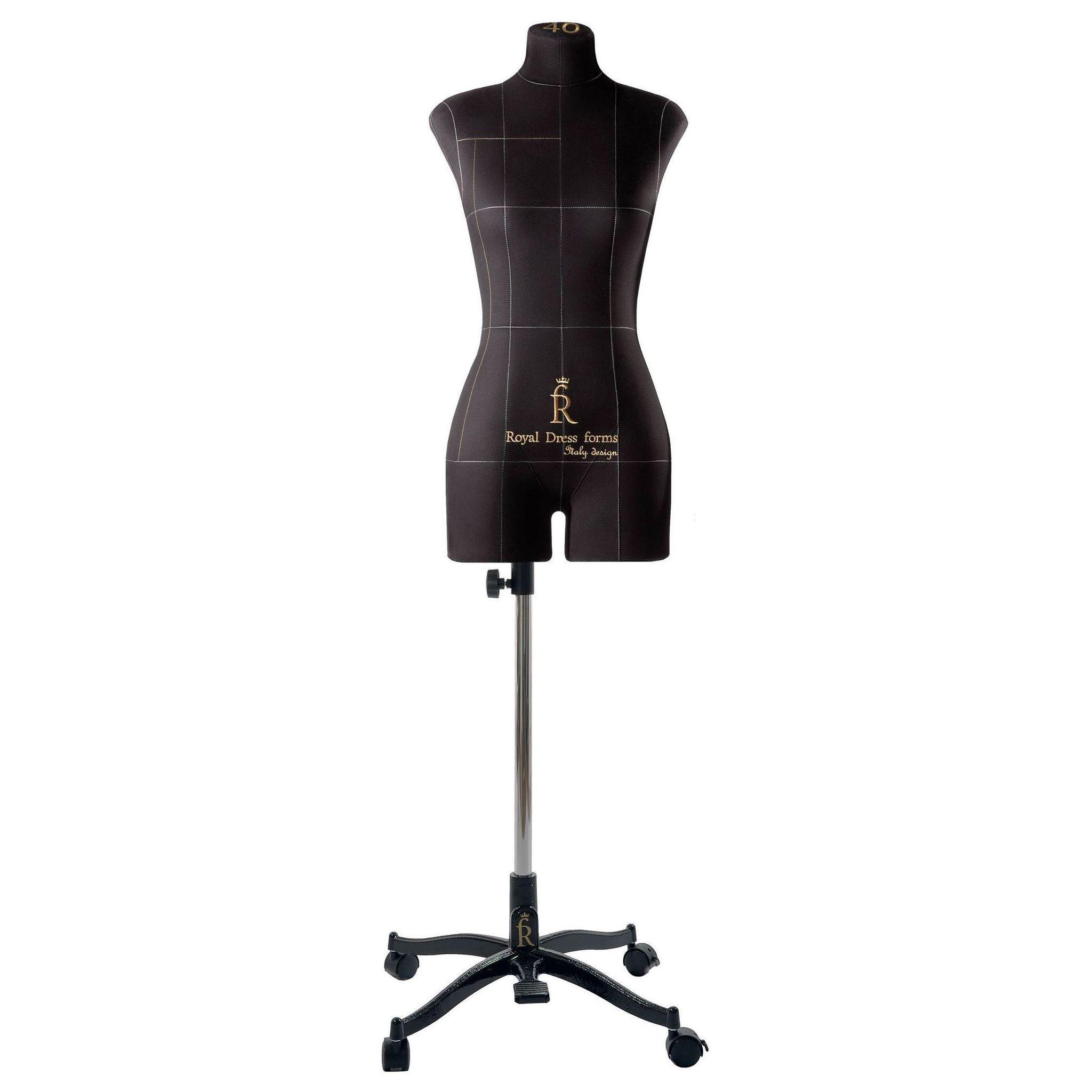 Манекен портновский Моника, комплект Премиум, размер 40, ЧерныйФото 3
