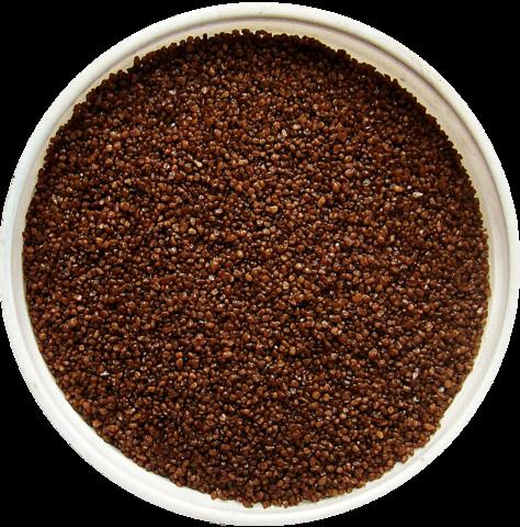 Песок коричневый кварцевый