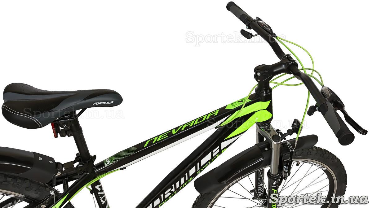 Рама, сідло, кермо велосипеда Formula Nevada