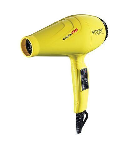 Фен BaByliss Pro Luminoso, 2100 Вт, 2 насадки, желтый