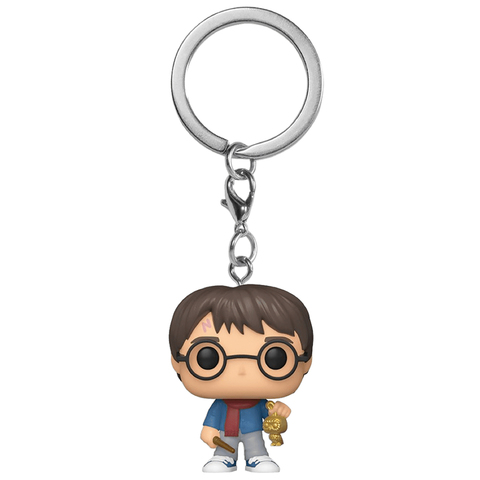 Брелок Funko Pocket POP! Keychain: Harry Potter: Holiday: Harry 51204-PDQ