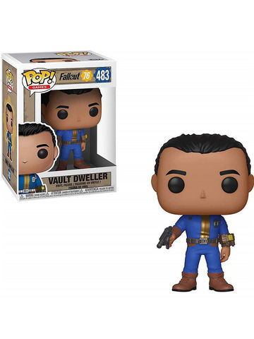 Фигурка Funko POP! Vinyl: Games: Fallout 76: Vault Dweller (Male) 39039