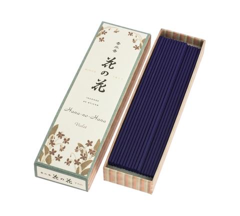 Японские благовония Hana-no-Hana Violet 40шт
