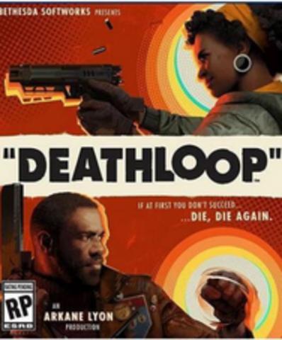 Плакат игровой Deathloop (А1)